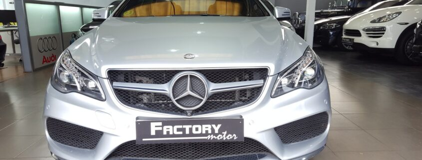 Frontal Mercedes-Benz E350 Coupe