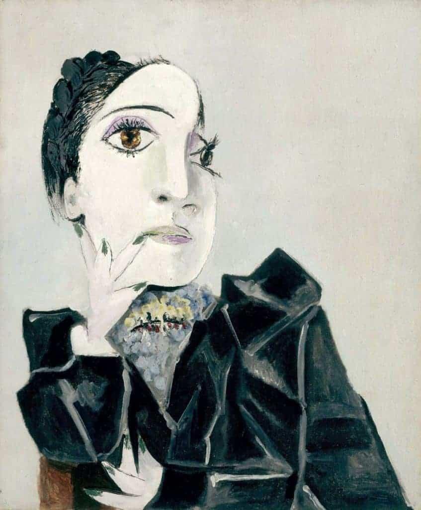 Dora Maar with Green Fingernails, 1936, Picasso. © National Gallery, Staatliche Museen zu Berlin.