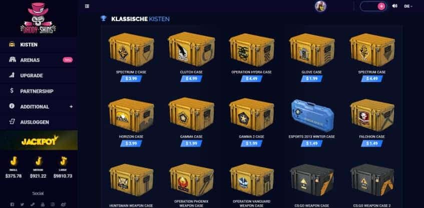 Daddy Skins Csgo Cases
