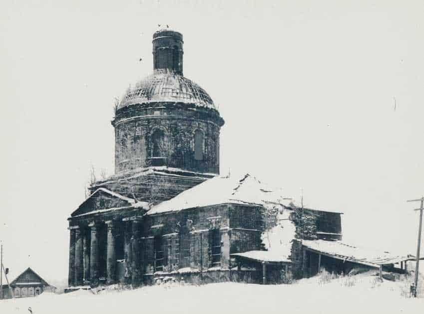 Церковь Никольская, Бужаниново 1988г