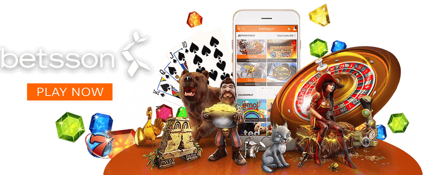Play at Betsson.com and win jackpots!