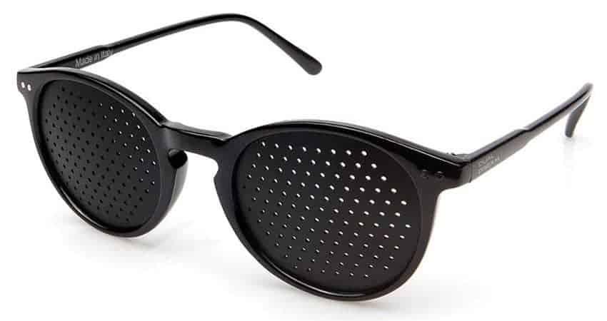 Dual Dream ® Occhiali stenopeici Lettura black | Miglioramento vista