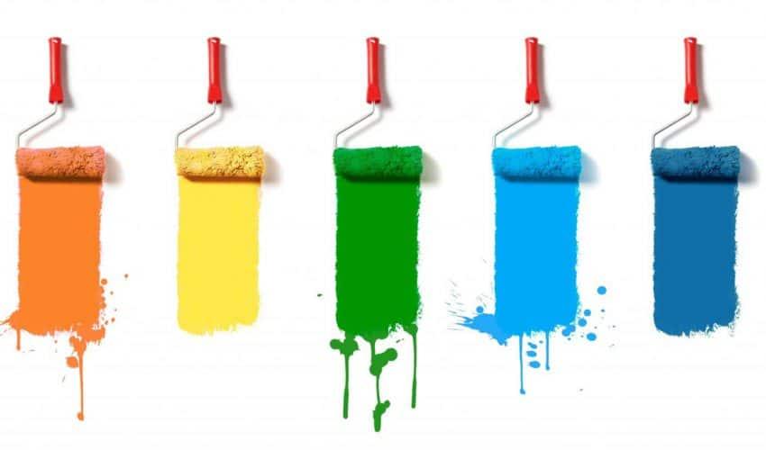 Rodzaje farb do malowania wnętrz
