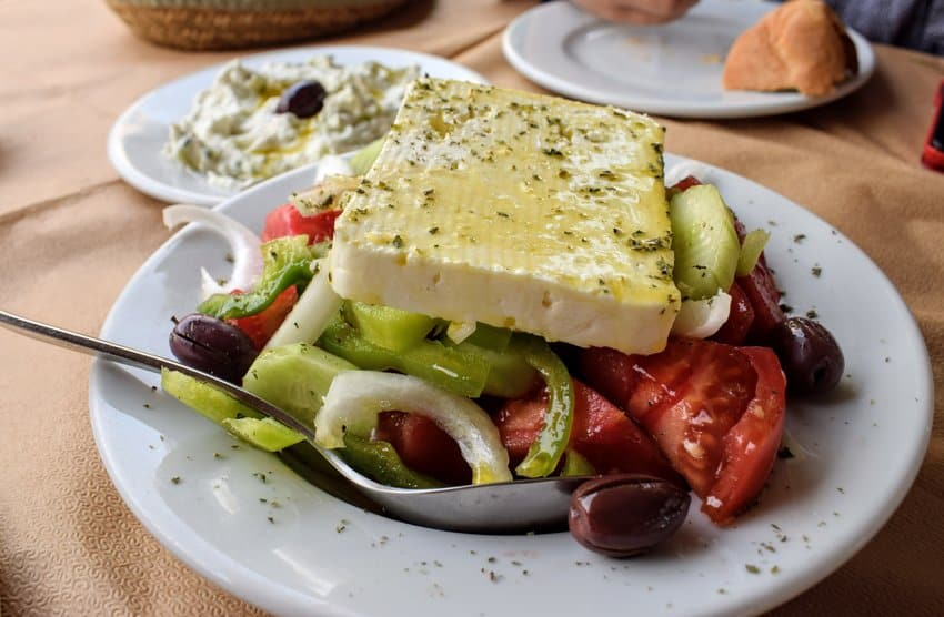 World Food and cuisines greek food