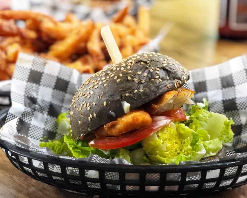 Barramundi Traditional Australian Food Barra Burger
