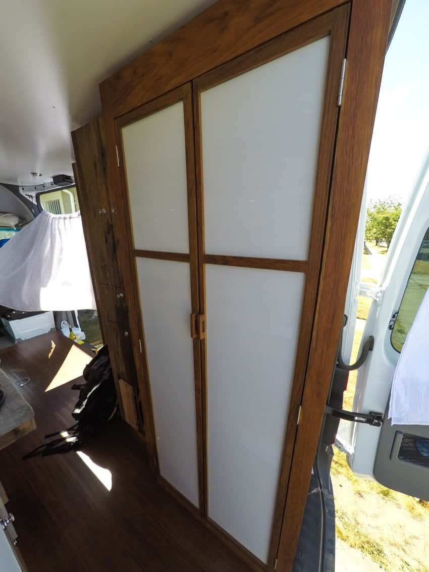 If you are thinking about building a bathroom in your Sprinter Van...read this first! Here's my thoughts on the pros and cons of building a shower in your camper van with 6 months of van life under my belt.