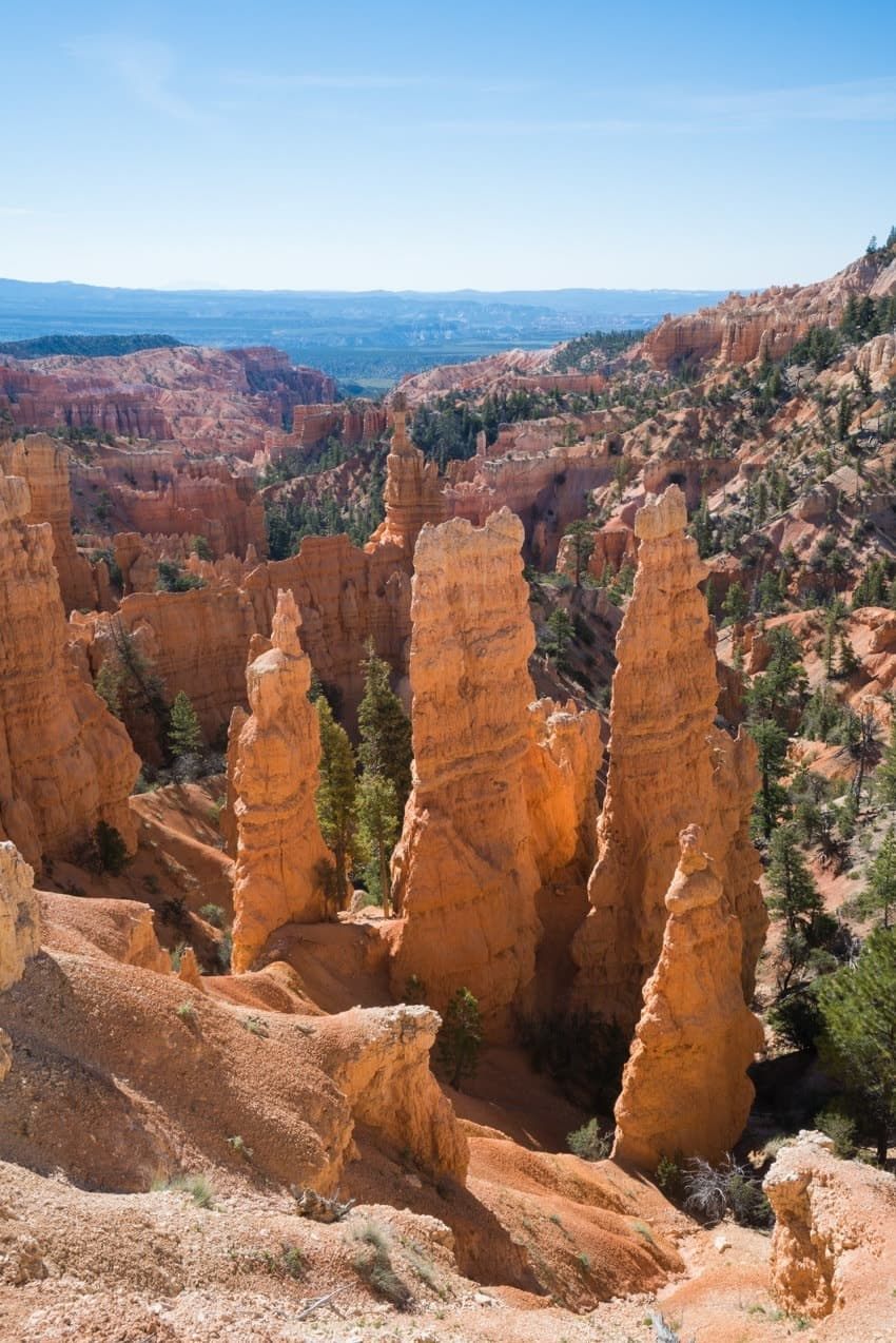 Bryce Canyon // Explore Utah National Parks in this 10-day road trip itinerary w/ the best hikes, activities & camping in Zion, Bryce, Capitol Reef, Arches & Canyonlands.