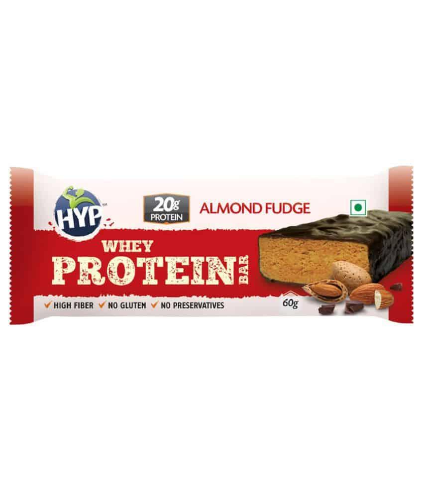 Hyp Almond Fudge Protein Bar