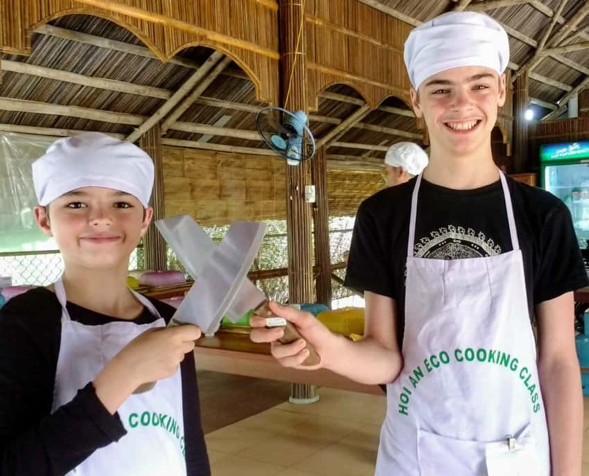 Hoi An Cooking Class for Kids