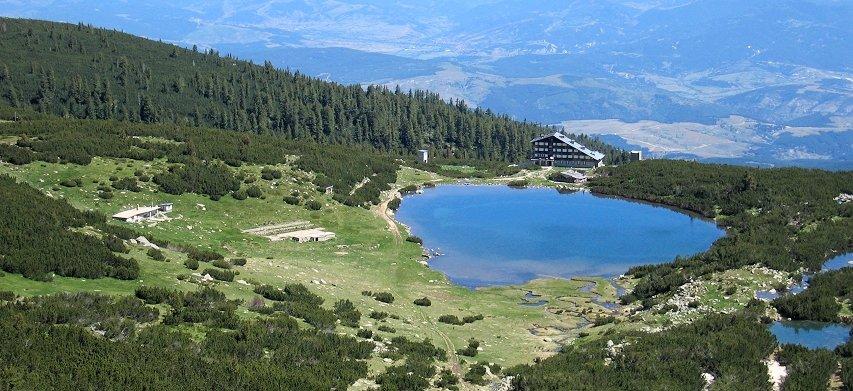 Vistas desde pico Bezbog