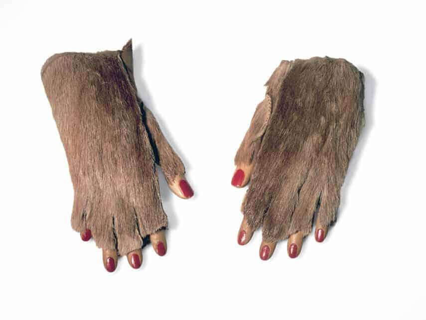 Meret Oppenheim Fur Gloves