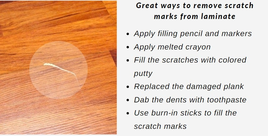 How Do You Remove Scratch Marks From Laminate Floors Floor Techie