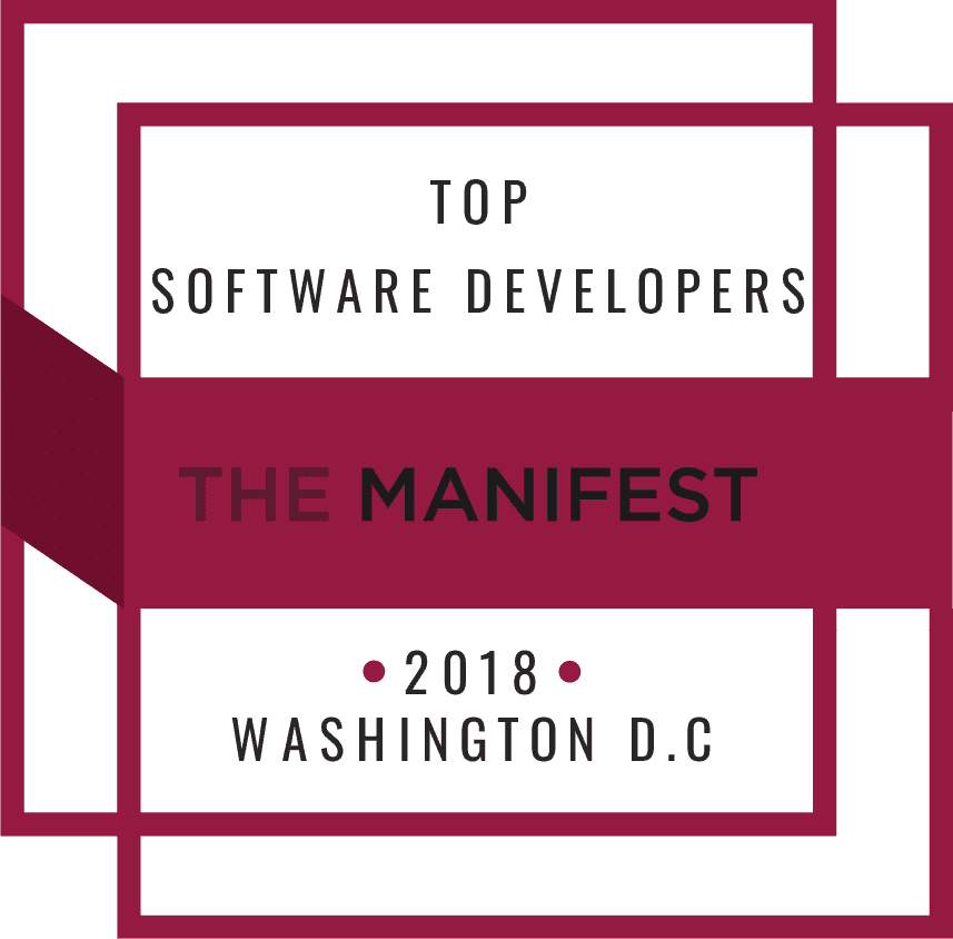 The Manifest Washington DC awards Maxiom Tech as one of the top software developers