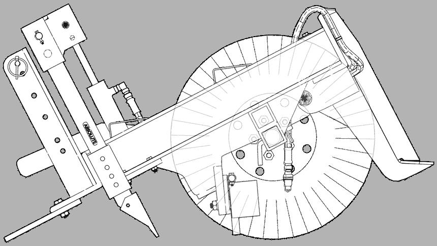 SR3 Grading Rake