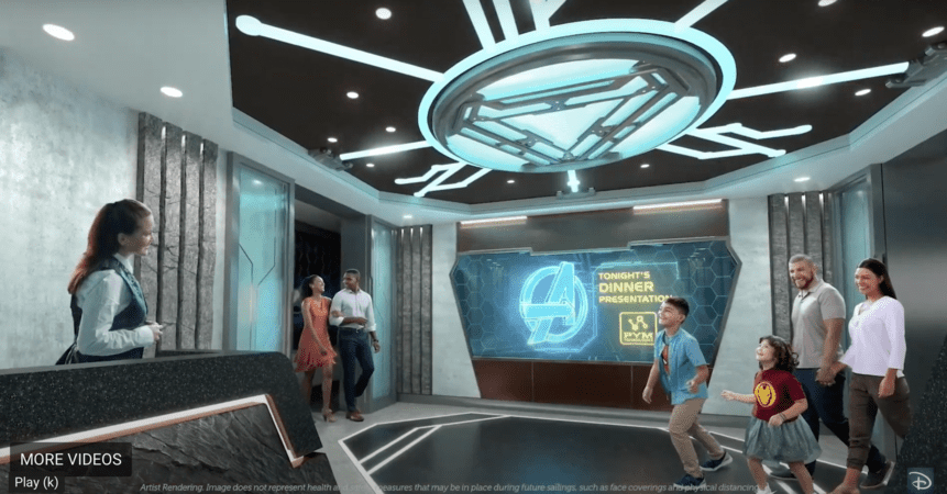 Worlds of Marvel Disney Wish