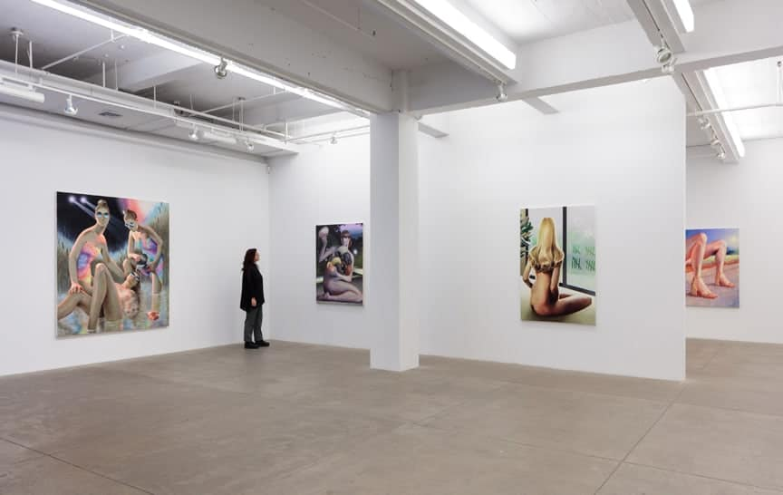 Robin F Willaims, Your Good Taste Is Showing, installation view. Image via artist's website