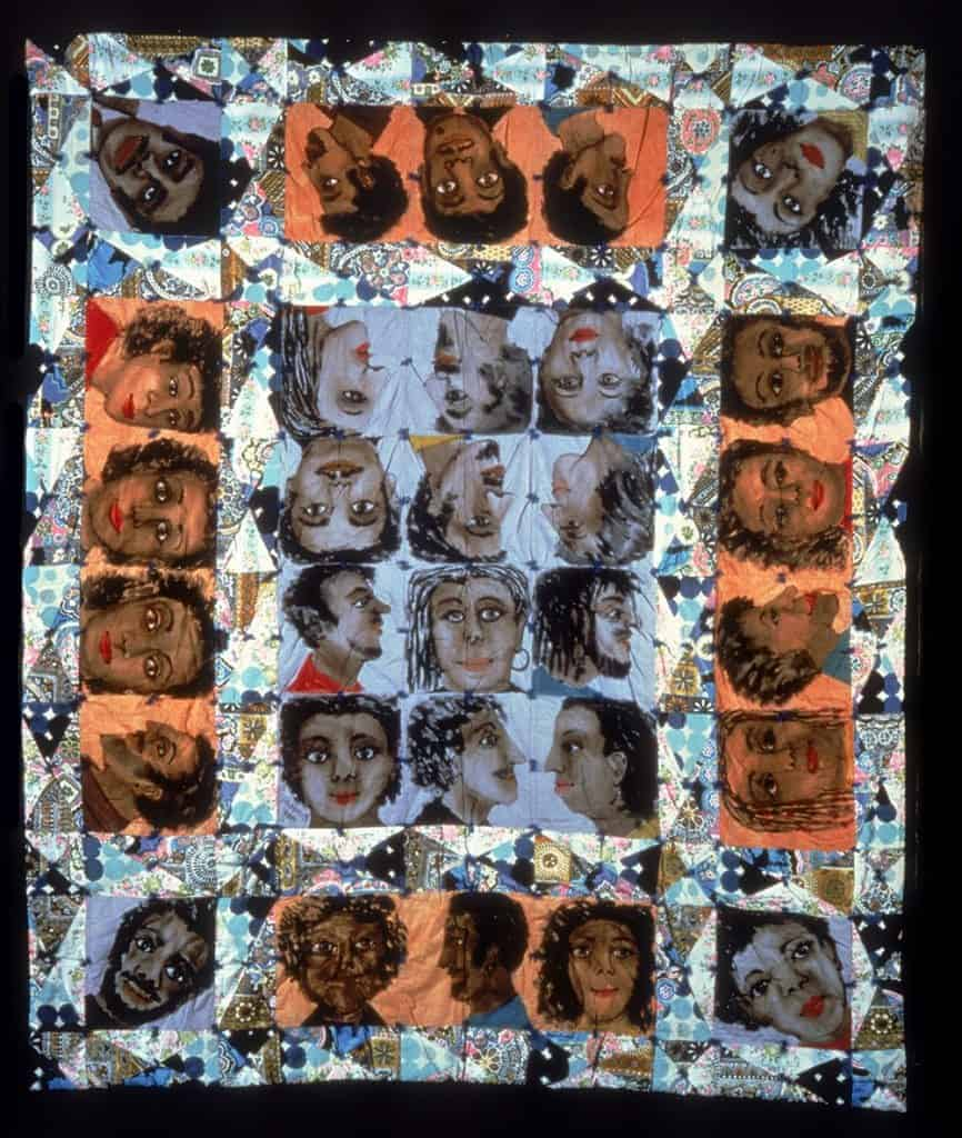 Echoes of Harlem (1980) by Faith Ringgold