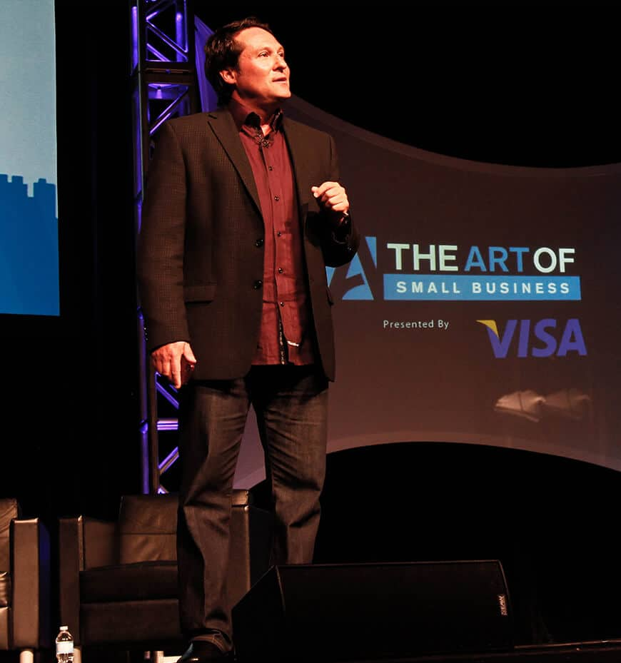 Stephen Shapiro Speaking at the art of small business conference