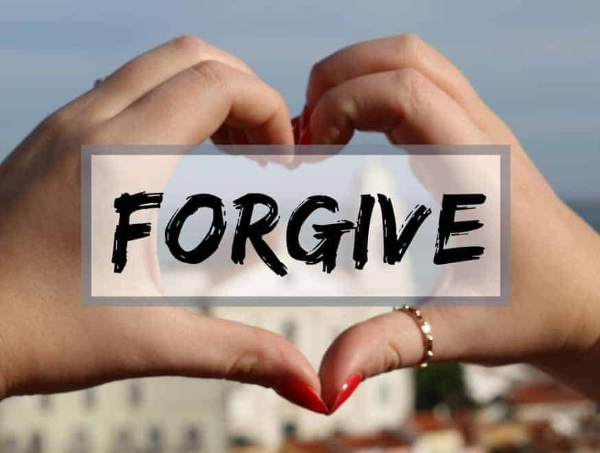 Forgive and let yourself free
