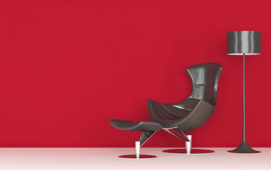 Modern stylish recliner chair