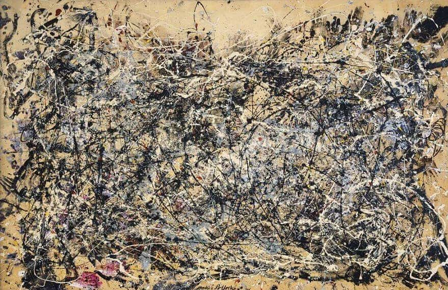 Jackson Pollock, Number 1A, 1948. Ninth Street Show