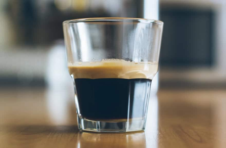 The top layer of crema tells you your espresso is fresh, but you might find it bitter on its own.
