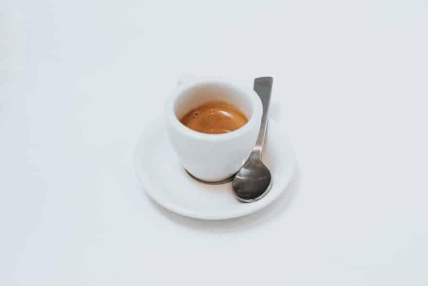 Espresso with a nice crema.