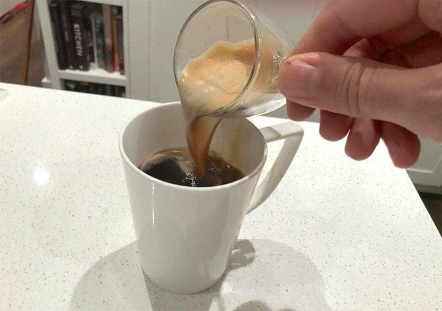 Red eye coffee