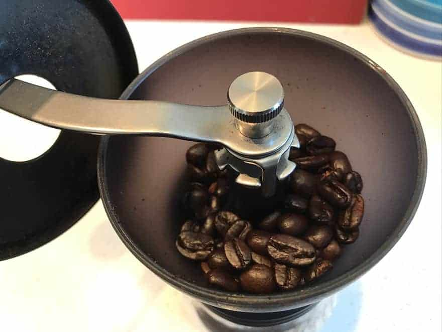 Grind your beans.