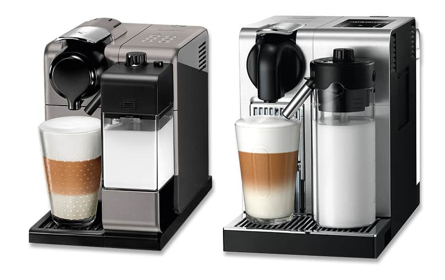 Nespresso Lattissima Touch and Lattissima Pro coffee machines