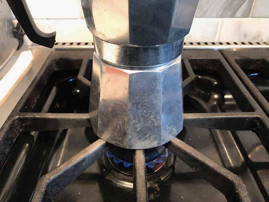burner on medium