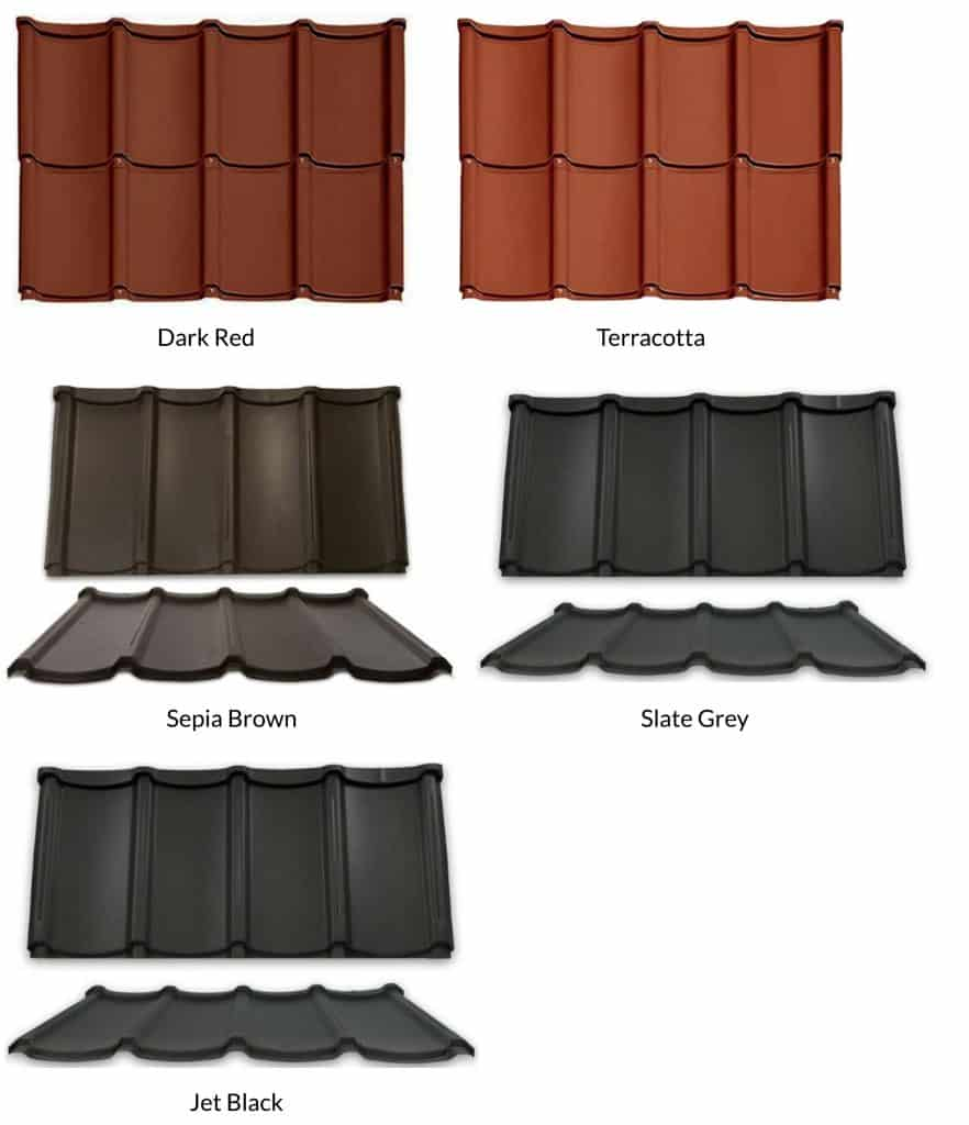Wiseline Algoma Metal Roofing Tiles London