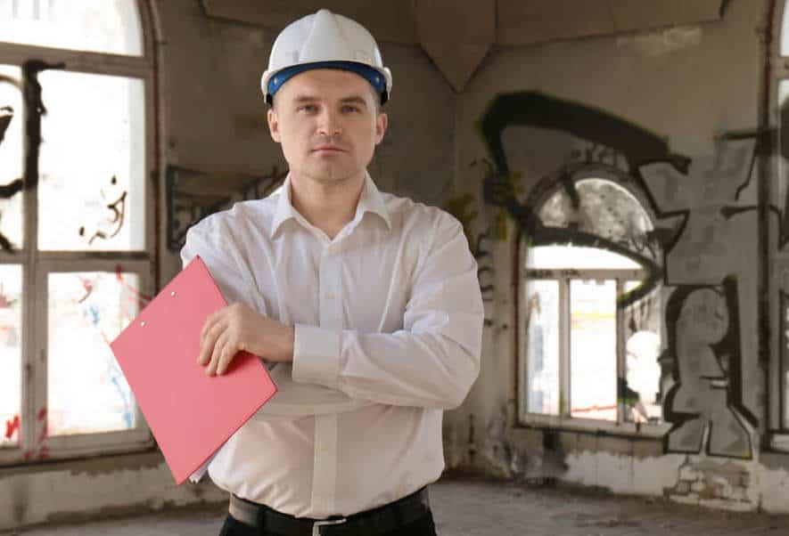Property Damage Insurance Claim Inspection