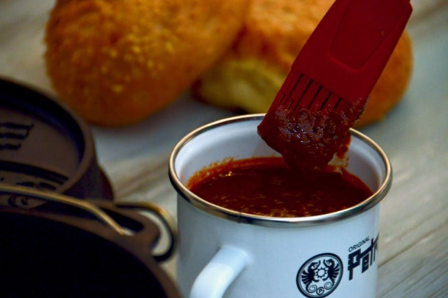Rezept für selbstgemachte Memphis Style BBQ Sauce, BBQ Soße ohne Ketchup