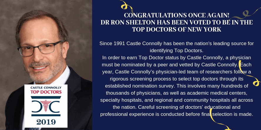 Castle Connolly Top Doctors 2019 - Dr Ron Shelton