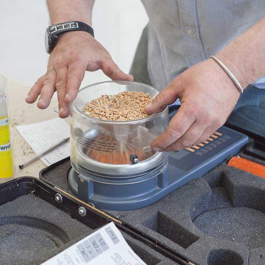 Wartung des Feuchtigkeitsmessers, Wartung des Feuchtigkeitsmessers, Getreidemaster, Protimeter