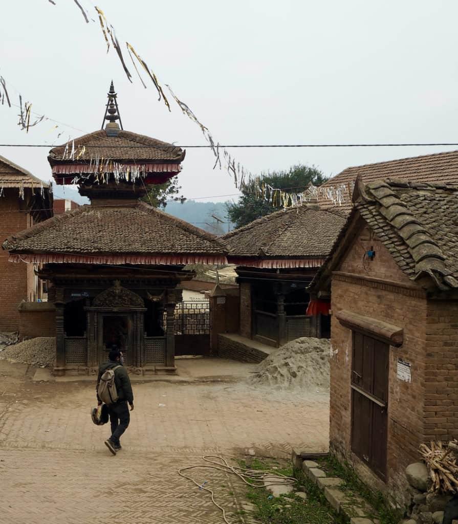 Panauti: Tempel in der Altstadt
