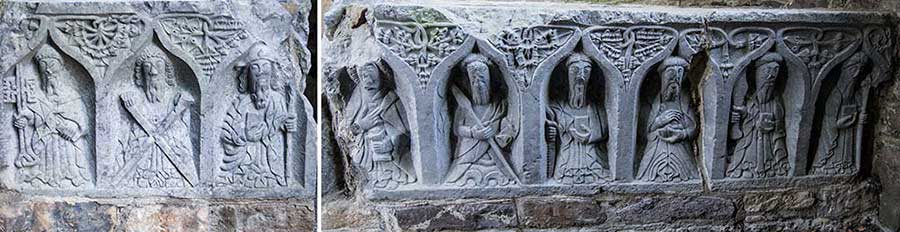 Jerpoint Abbey, another set of Weepers