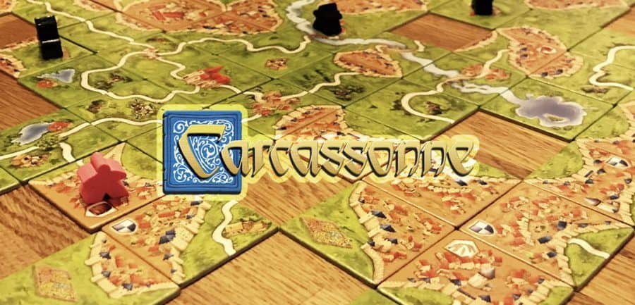 puzzelspel carcassonne