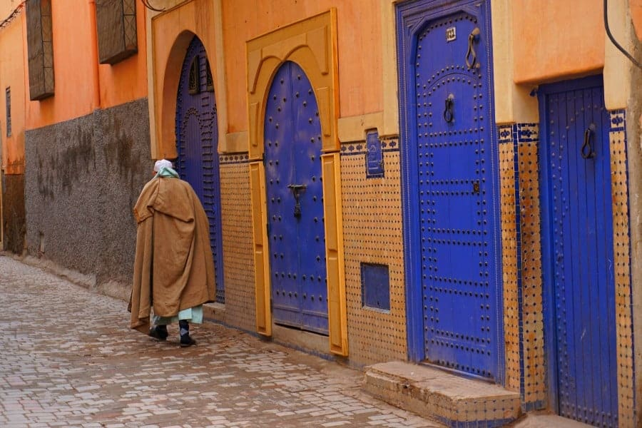 Marrakech back streets