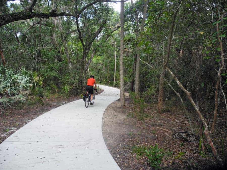 tomoka state park bike trail