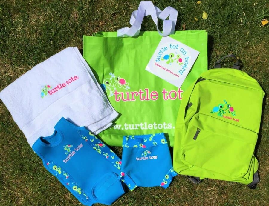 selection of turtle tots goodies