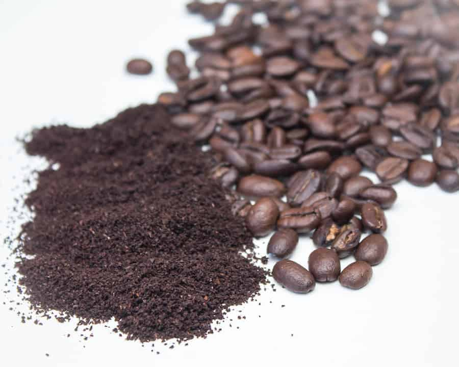 Size of coffee grounds