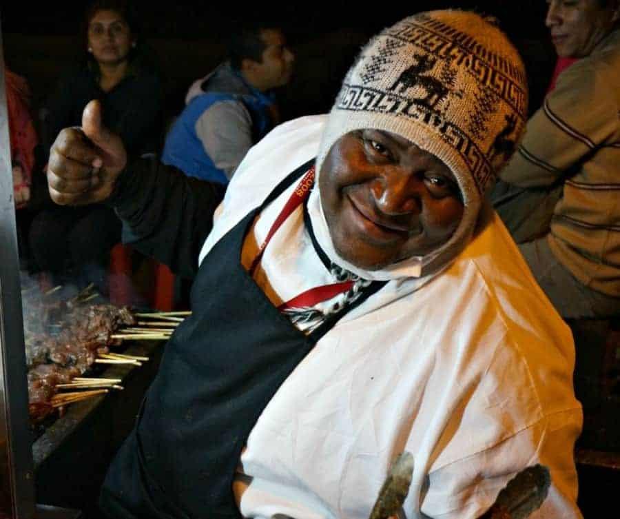 Lima Peru Street Food