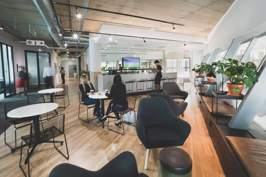 Flexible office spaces lead to more productive employees