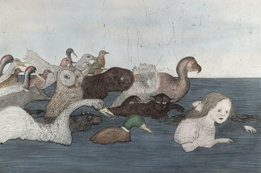 Kiki Smith, Pool of Tears 2 (after Lewis Carroll), 2000.