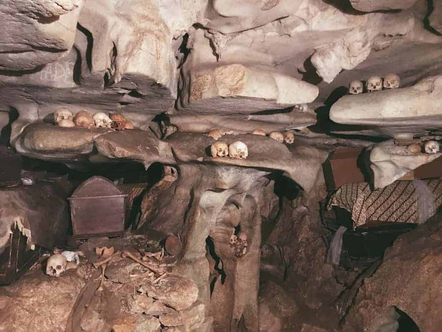 Inside The Cave Grave of Londa