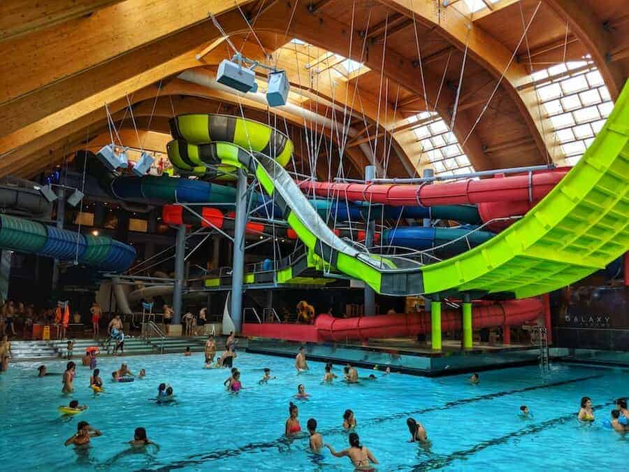 Galaxy Area at Therme