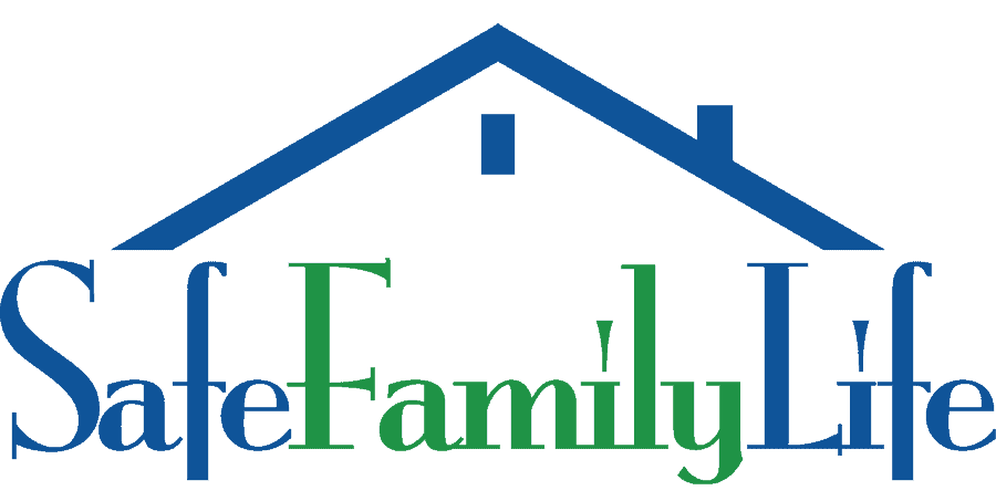 safe family life logo protecting family home