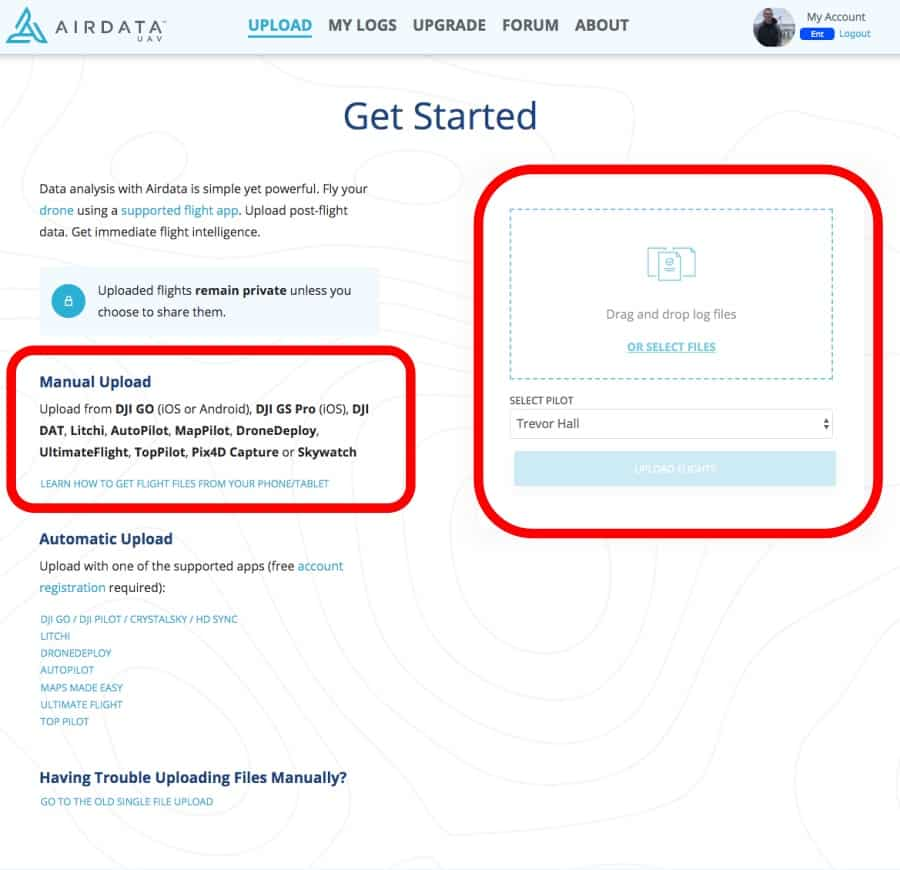 Airdata UAV - View & Share Drone Flight Logs [Coupon] - Let